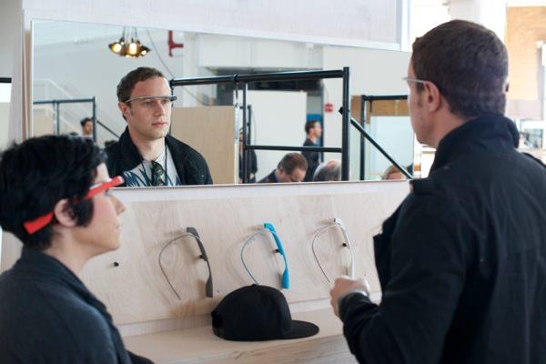 Google Glass premier abord