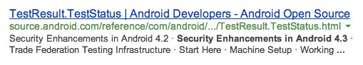 Google confirme Android 4.3