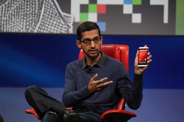 HTC One Android pur Sundar Pichai