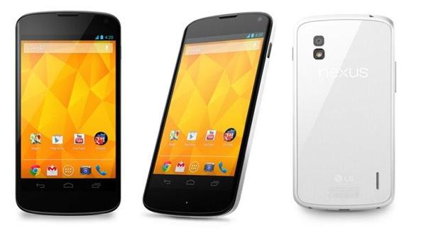 LG Nexus 4 Blanc