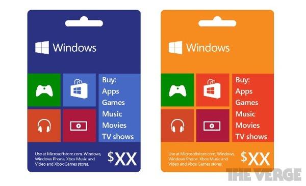 Microsoft Carte Cadeau