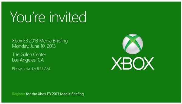 Microsoft Xbox Conference 10 juin 2013