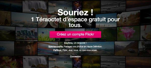 Nouveau Flickr