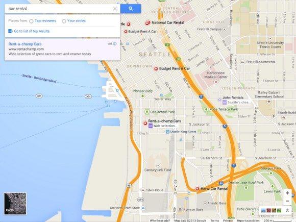 Nouveau Google Maps 2