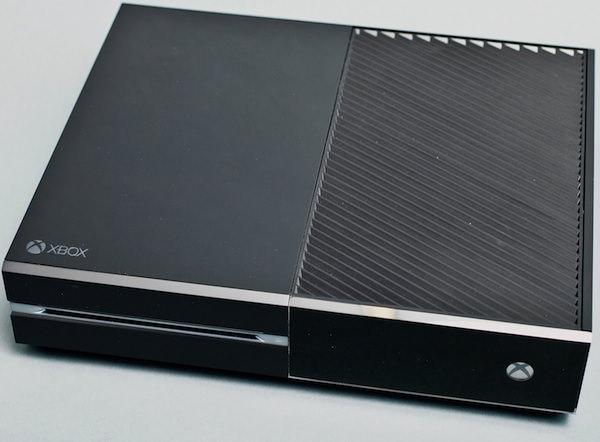 Xbox One Dessus