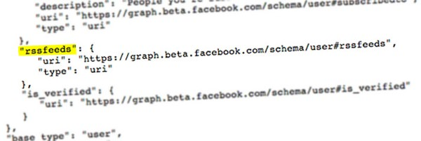 Facebook RSS Code Source