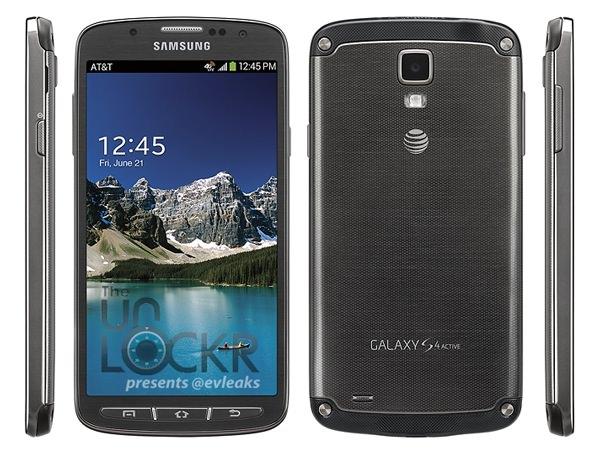 Galaxy S4 Active Image Presse Fuite