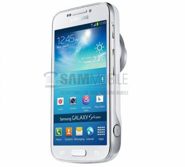 Galaxy S4 Zoom Presse Fuite