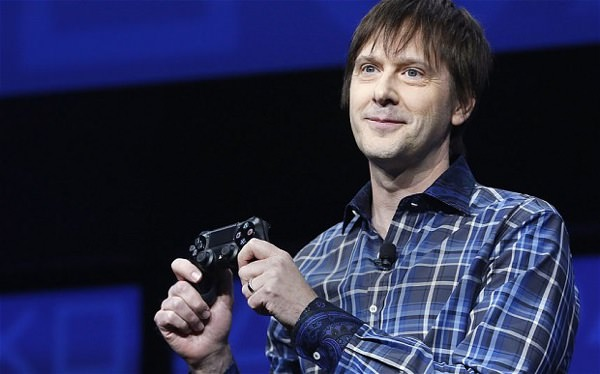 Mark Cerny PlayStation 4 Manette