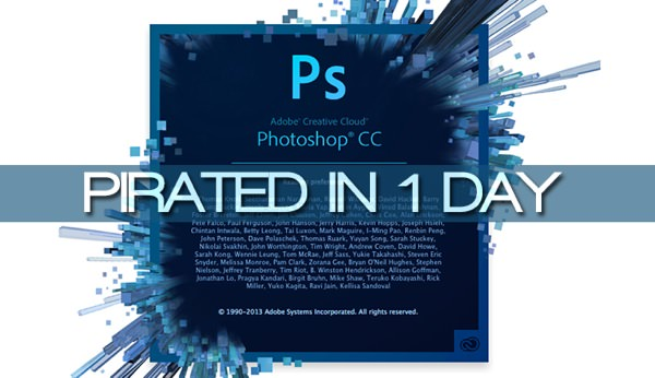 Photoshop CC Pirate 1 jour