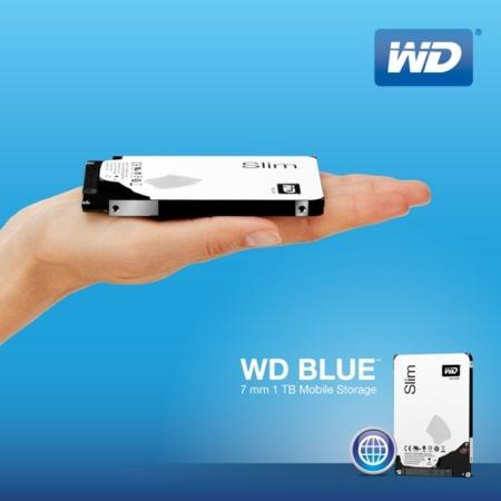 Western Digital Disque Dur 7 milimetres