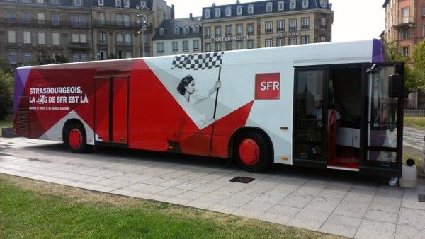 4G Strasbourg Bus