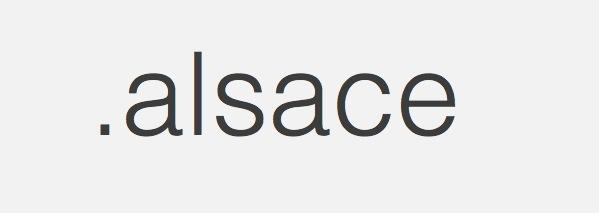 Extension Internet .alsace