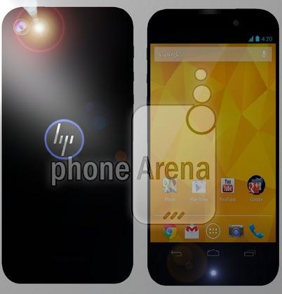 HP Smartphone Rendu