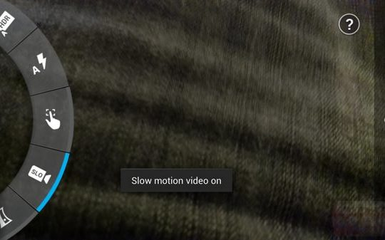 Moto X Appareil photo slow motion