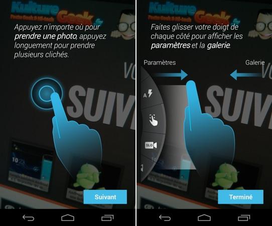 Moto X Application Appareil photo KG