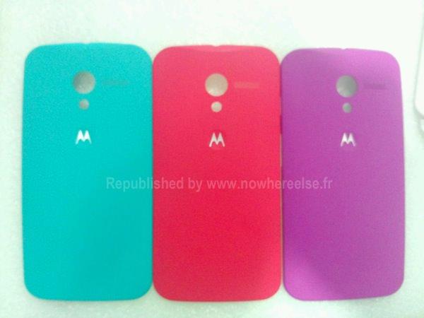 Moto X Coques couleurs fuite