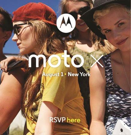 Motorola Moto X Conference 1 aout