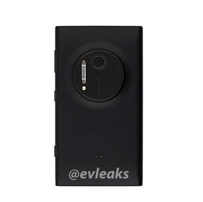 Nokia Lumia 1020 Arriere Fuite