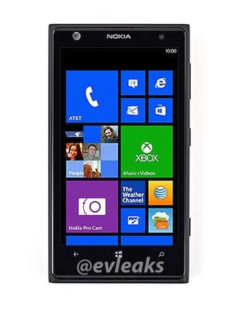 Nokia Lumia 1020 Avant Fuite