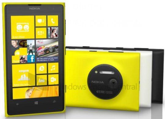 Nokia Lumia 1020 Image Presse Fuite