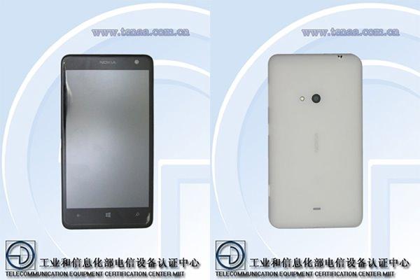 Nokia Lumia 625 Fuite