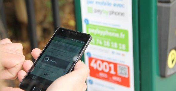 Paiement Stationnement mobile