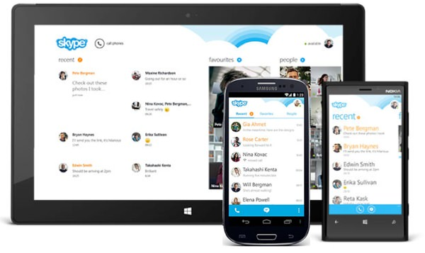 Skype Android 4.0