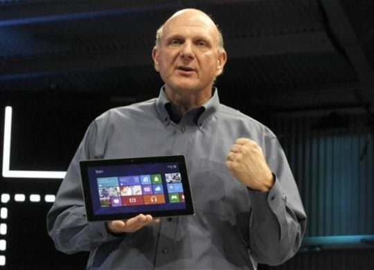 Steve Ballmer Surface RT
