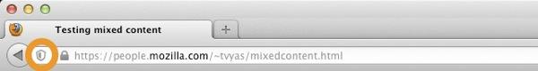 Firefox 23 Contenu Mixte