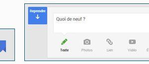 Google+ Marque-page