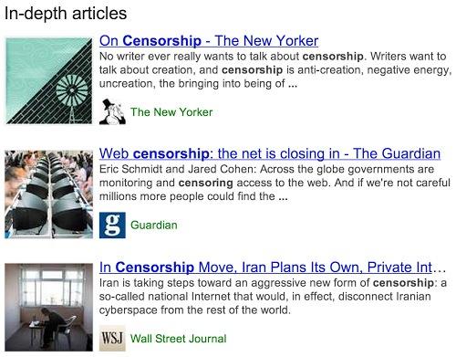 Google Article Approfondi