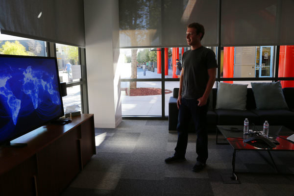 Mark Zuckerberg Internet Mondial
