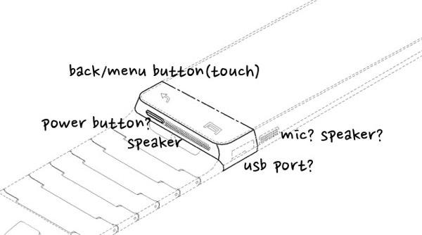 Samsung Galaxy Gear Brevet