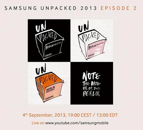 Samsung Unpacked Episode 2 4 Septembre