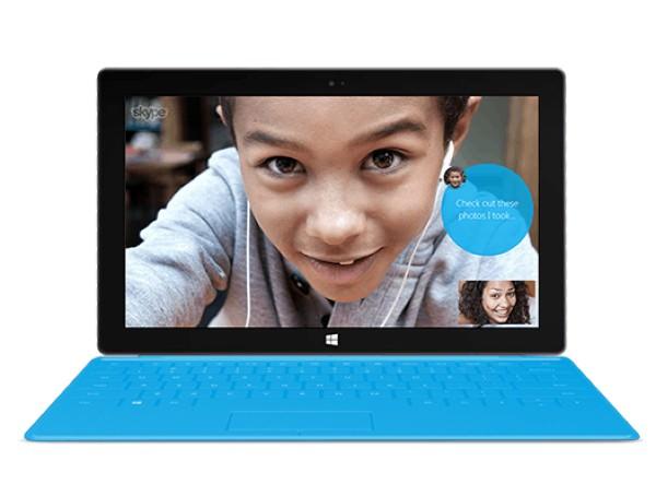 Skype Surface RT