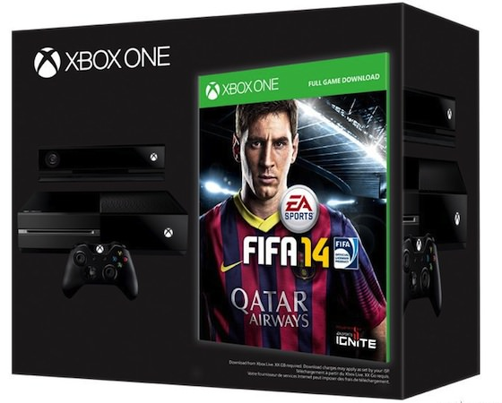 Xbox One Bundle FIFA 14