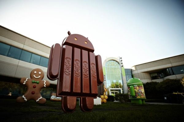 Android Kit Kat Statue