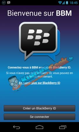 BBM Android Fuite