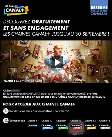 Canal Plus Promo Free
