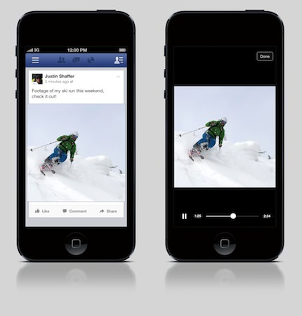 Facebook Lecture Video Automatique