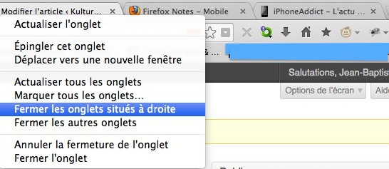 Firefox 24 Fermer onglets situes a droite