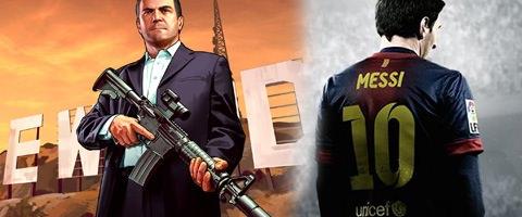 GTA 5 FIFA 14