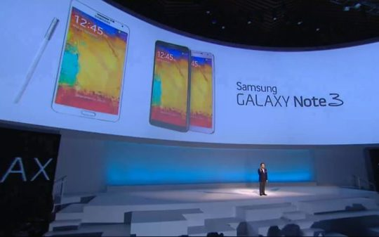 Galaxy Note 3 Conference
