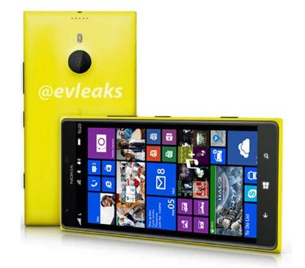 Lumia 1520 Photo Presse Fuite