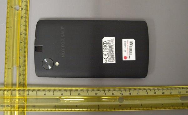 Nexus 5 FCC 2