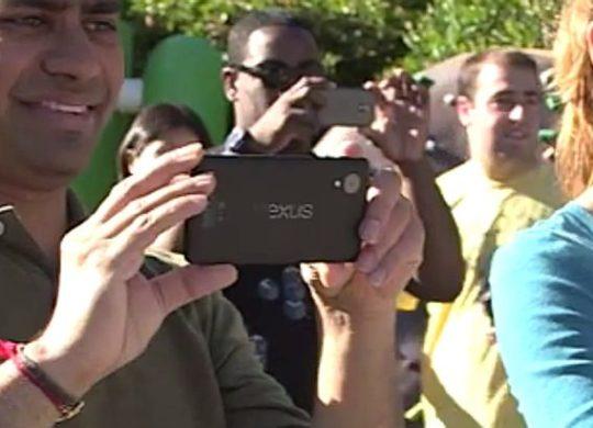 Nexus 5 Fuite Google Video Zoom