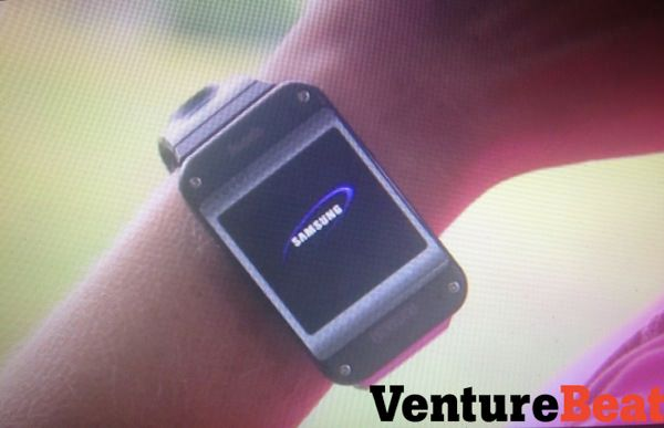 Samsung Galaxy Gear Fuite