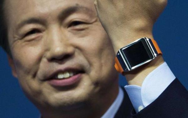 Samsung Galaxy Gear JK Shin