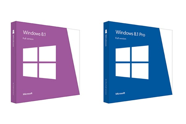 Windows 8.1 Boites